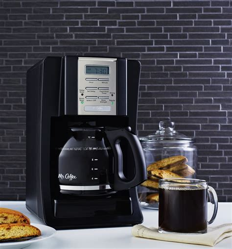 Has been added to your cart. Mr. Coffee® Advanced Brew 12-Cup Programmable Coffee Maker Black/Chrome, BVMC-SJX23-RB