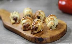 Mini Croissant Apéritif : mini croissants tomate mozzarella ~ Melissatoandfro.com Idées de Décoration