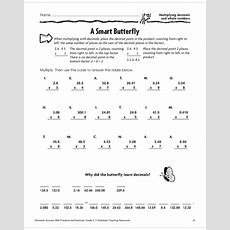 53 Dividing Whole Numbers Worksheets, Divide Decimals By Whole Numbers Worksheet Davezan