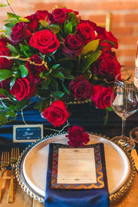 Rich Red and Gold Wedding Ideas ElegantWedding ca