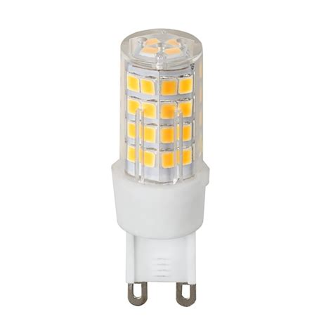 led dimmable l 4 5w g9 2700k 220 v ac warm light smd2835 ultralux