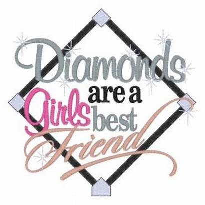 Diamonds Friend Baseball Embroidery Softball Applique Diamond