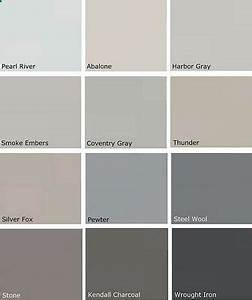 most popular gray paint colors more benjamin moore With nuancier couleur taupe peinture 6 beige cream paint colors house painting tips exterior