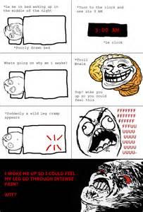 Rage Comics Troll Brain