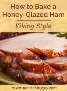 how to bake a ham honey glazed ham recipe dishmaps