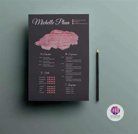 By including an image in your background, you'll grab the attention of your audience quickly and immediately relate. 15+ Unique Resume Templates to Download & Use Now