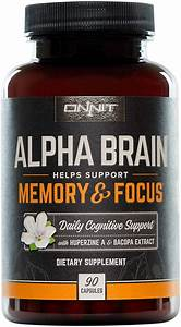 Alpha Brain By Onnit Review  A Nootropic Supplement