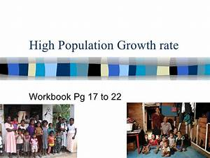 Sec 2 Na High Population Growth Rate