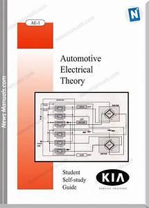Kia Booklet Automotive Electrical Theory