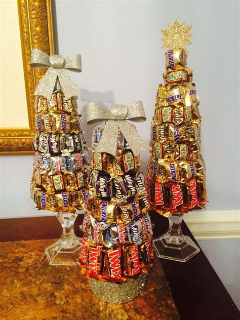 festive candy bar tree arts crafts christmas candy gifts diy christmas gifts
