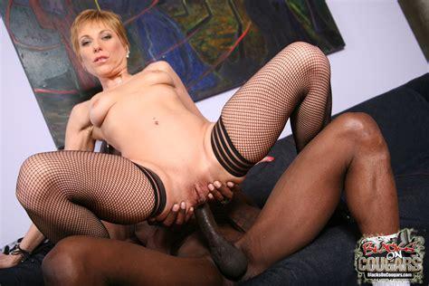 Lecherous Mature Cougar Gemma More Enjoys Black Meat With