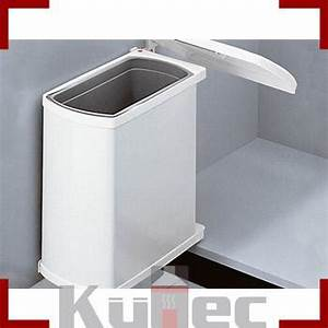 Mülleimer Für Küche : einbau abfallsammler 18 l f r dreht r wei 45 cm schrank ~ Michelbontemps.com Haus und Dekorationen