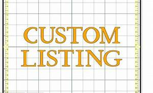 Open To ALL Custom Listing Design Your Own Bib Book Race