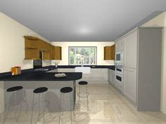 small g shaped kitchen designs g shaped kitchen with breakfast bar kitchen with a view 8015