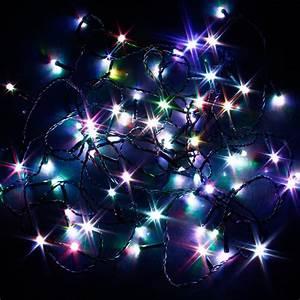 Guirlande Lumineuse Solaire Clignotante 100 Led Autres