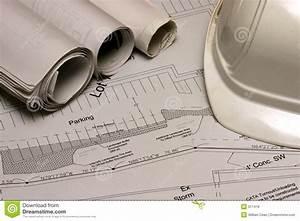 Construction Plans 2 Royalty Free Stock Photos