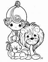 Precious Moments Coloring Pages Printable Animals Bible Baby Print Boy Lion Animal Coloringcolor Christian Colouring Miscellaneous Books Sheets Clip Drawing sketch template