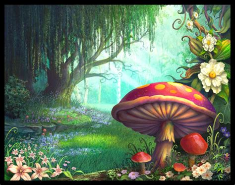 The Enchanted Forest  Fantasy & Abstract Background
