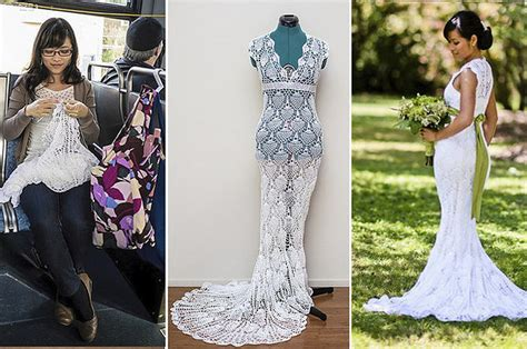 This Woman Made An Amazing Wedding Dress For
