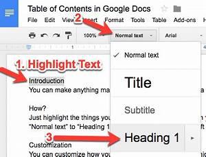 teachingtechnix google docs insert table of contents With google documents table of contents