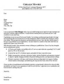 Best Cover Letters Sles Cover Letter Sales Sle
