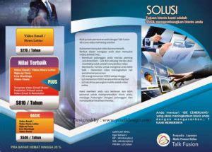contoh brosur flyer leaflet desain  menarik