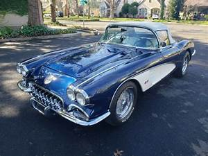 1960 Corvette With Aftermarket Fuel Injection