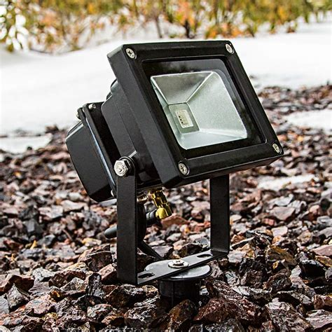 cool light fixtures high power 10w rgb led flood light fixture with wireless