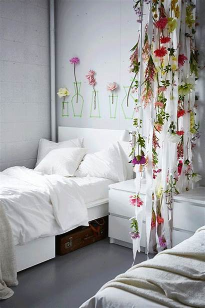 Ceiling Hanging Flowers Artificial Different Bedroom Decoration