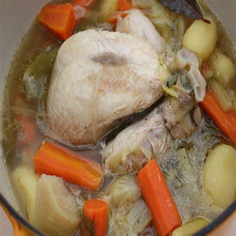 recette la poule au pot cuisine et vins de