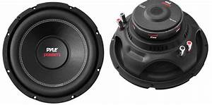 2  Pyle Plpw10d 10 U0026quot  2000w Car Subwoofer Audio Power Subs