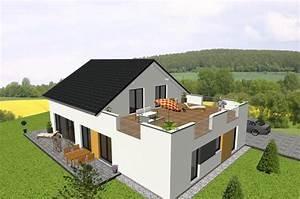 Haus Mit Dachterrasse : individuell geplant generationshaus mit dachterrasse jk traumhaus ~ Frokenaadalensverden.com Haus und Dekorationen