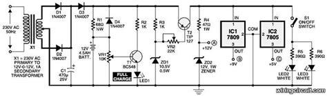 Mini Ups Circuit Here The Simple Diagram