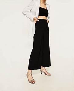 Hosen mit hohem bund und knöpfen