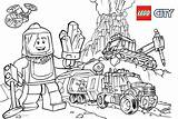 Lego Coloring Pages Mining Printable Adults sketch template