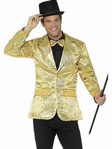 Sequin Jacket Mens Fancy Dress Jazz Celebrity Showtime Silver Adults Costume New | eBay