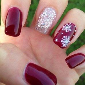 Best 25 Holiday acrylic nails ideas on Pinterest