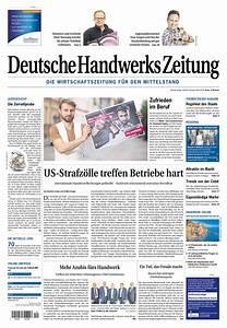 Zeitung Selbst Gestalten : deutsche handwerks zeitung holzmann medien ~ Fotosdekora.club Haus und Dekorationen