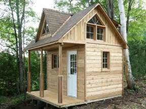 Small Cabin with Loft Kits