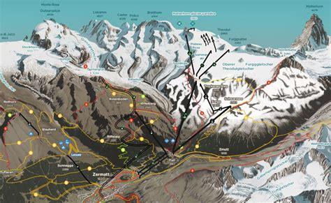 zermatt summer map