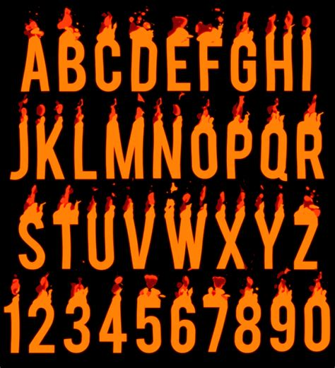 Design your own fire logo for free. Buy Fire Alphabet Animated Font And Get Hot As Summer