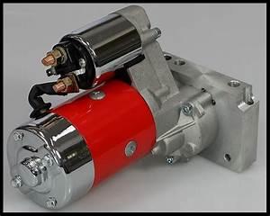 Sbc Bbc Chevy High Torque Mini Starter 3hp Red Jm