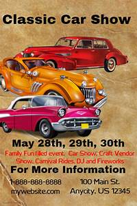 Classic Car Show Flyer template | PosterMyWall