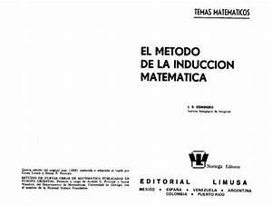 El Metodo De La Induccion Matematica Sominski Pdf