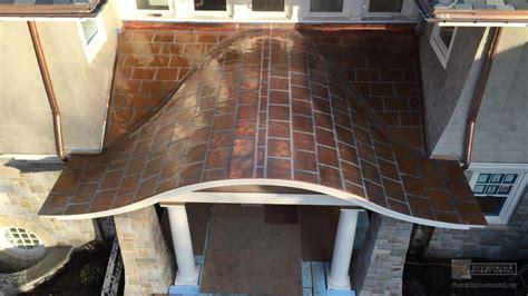 metal roofing fabrication installation copper zinc aluminum