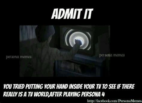 Persona 4 Memes - persona 4 meme shin megami tensei persona 4 pinterest