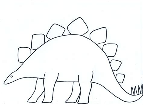 Dinosaur Template Paper Crafts For Children 187 And Decorated Paper