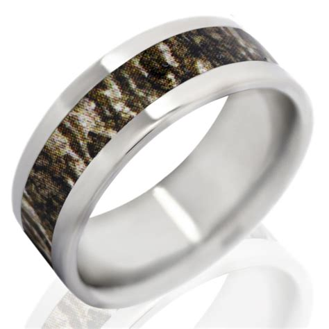 fable designs 8mm titanium with mossy oak bottom land