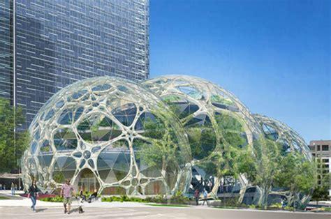 siege amazon de nouvelles photos du futur siège social d 39 amazon à seattle