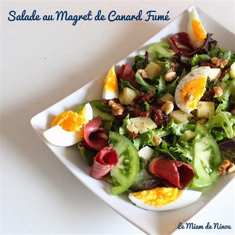 Entree Salade Magret De Canard comme une envie de salade de magret de canard fum 233
